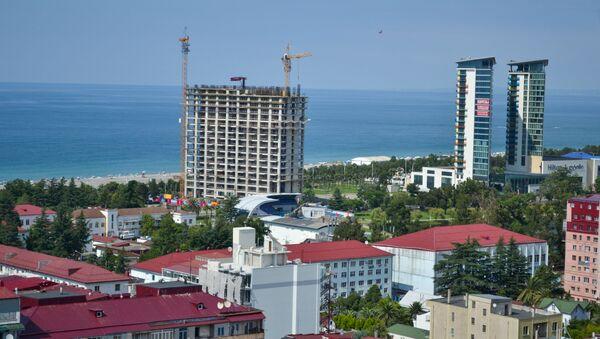Аджария. Батуми - вид на город - отели и жилые дома - Sputnik Грузия