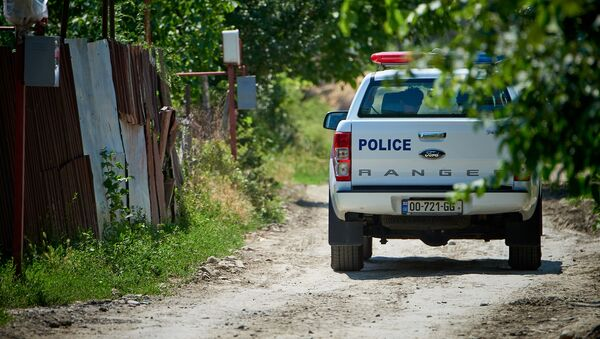 Полиция в регионе Шида Картли - Sputnik Грузия