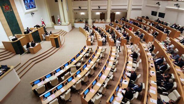Осенняя сессия заседания парламента Грузии - Sputnik Грузия