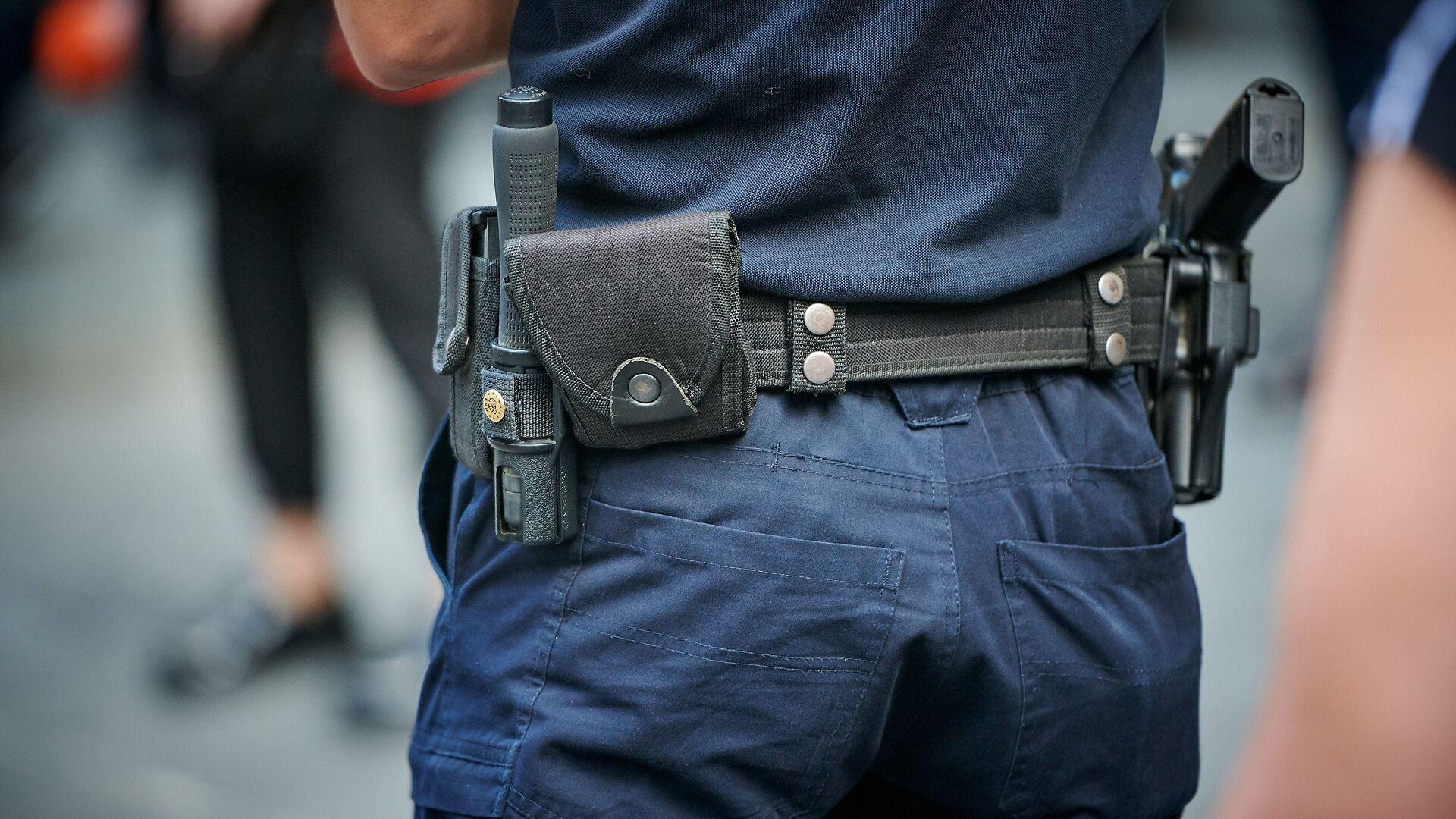 Патрульная полиция. Полицейские за работой  - Sputnik Грузия, 1920, 21.09.2021