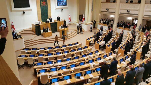 Утверждение правительства Грузии в парламенте. 8 сентября 2019 - Sputnik Грузия