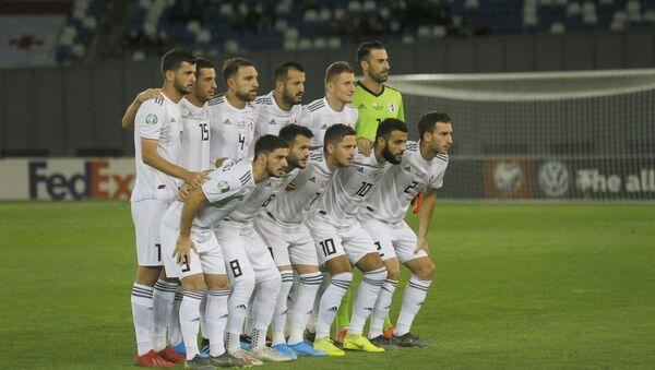 Матч между сборными Грузии и Дании по футболу. Грузинская сборная - Sputnik Грузия