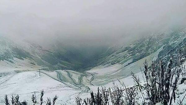 თოვლი თუშეთში - Sputnik საქართველო