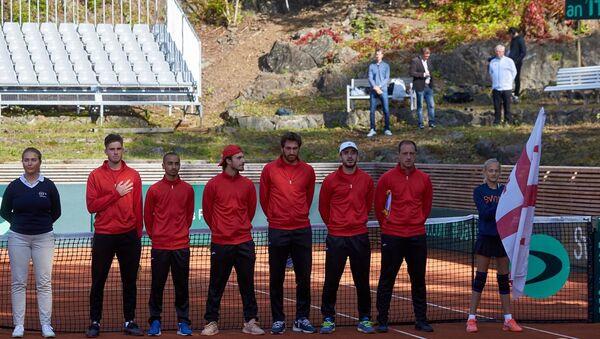 Мужская сборная Грузии по теннису - Sputnik Грузия