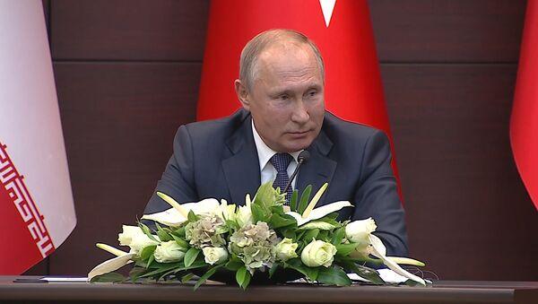 Путин предложил Саудовской Аравии закупить российские ЗРК - видео - Sputnik Грузия