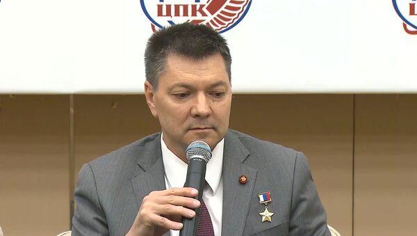 Кононенко рассказал, зачем космонавтам оружие - видео - Sputnik Грузия