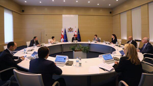 Заседание правительства Грузии - Sputnik Грузия