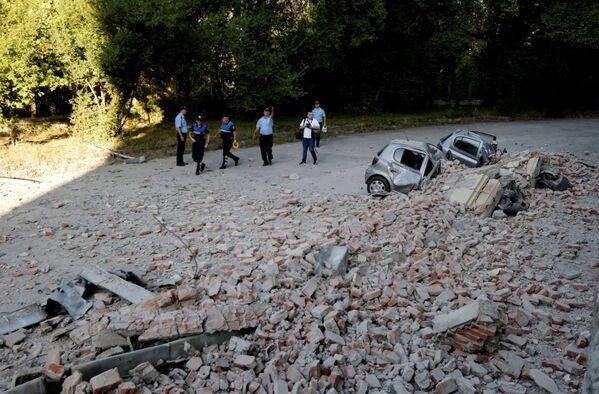 Жители Тираны получили ранения разной степени тяжести и были доставлены в центральную больницу - Sputnik Грузия