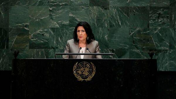 Президент Грузии Саломе Зурабишвили - Sputnik Грузия