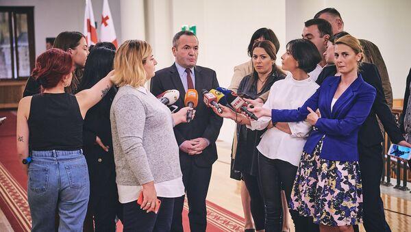 Зураб Чиаберашвили - Sputnik Грузия