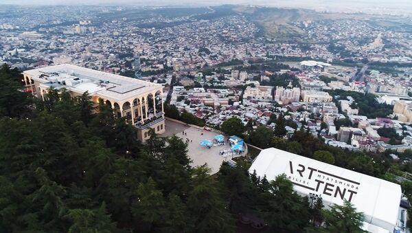 Арттент — новое инновационное выставочное пространство - Sputnik Грузия