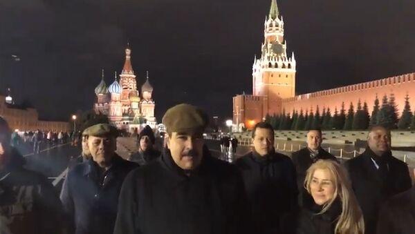 Мадуро поделился видео прогулки по Красной площади - видео - Sputnik Грузия