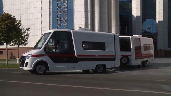 Россия подарила Узбекистану поликлинику на колёсах - Sputnik Грузия