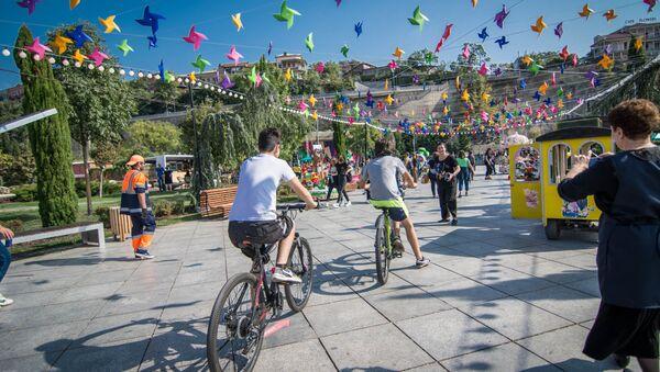 Праздник Тбилисоба в столице Грузии 5 октября 2019 - Sputnik Грузия