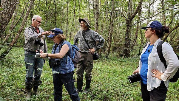 Эксперты Международного союза охраны природы и природных ресурсов в Грузии - Sputnik Грузия