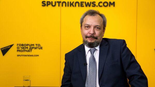 Редактор журнала Геоэнергетика.ru Борис Марцинкевич - Sputnik Грузия