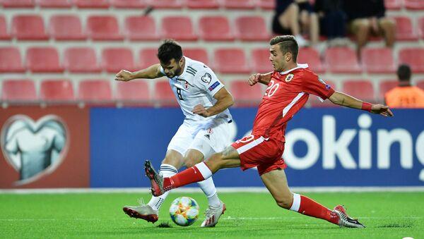 Матч сборных Грузии и Гибралтара по футболу - Sputnik Грузия