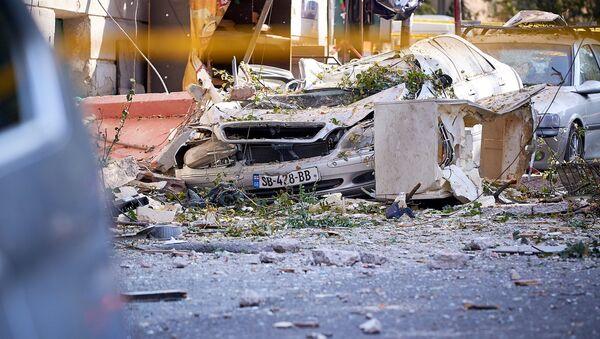 Страшные последствия взрыва бытового газа в квартире многоэтажного жилого дома на проспекте Гурамишвили - Sputnik Грузия