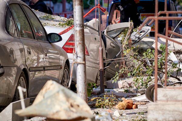 Но эти разрушения причинил вовсе не взрыв бомбы террориста...  - Sputnik Грузия