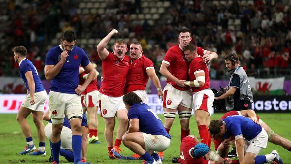 Матч по регби между сборными Уэльса и Франции - Sputnik Грузия