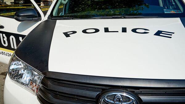 Криминальная полиция на месте расследования преступления - Sputnik Грузия