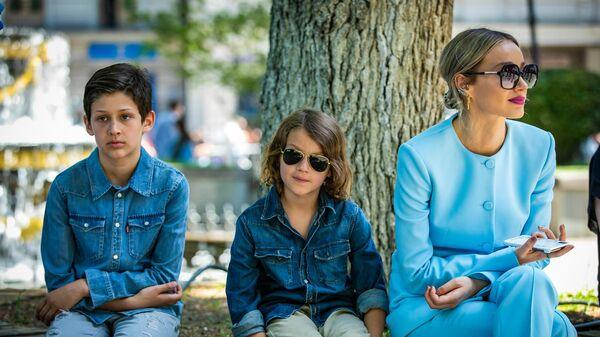 ანუკი არეშიძე შვილებთან ერთად - Sputnik საქართველო