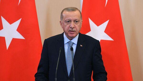 Президент Турции Реджеп Тайип Эрдоган - Sputnik Грузия