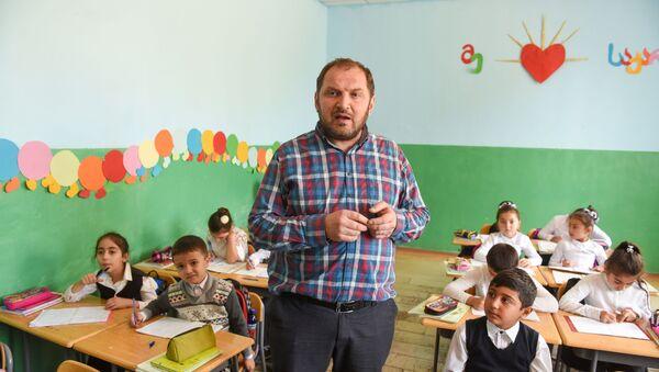 წლის მასწავლებელი – გიორგი ჭაუჭიძე - Sputnik საქართველო