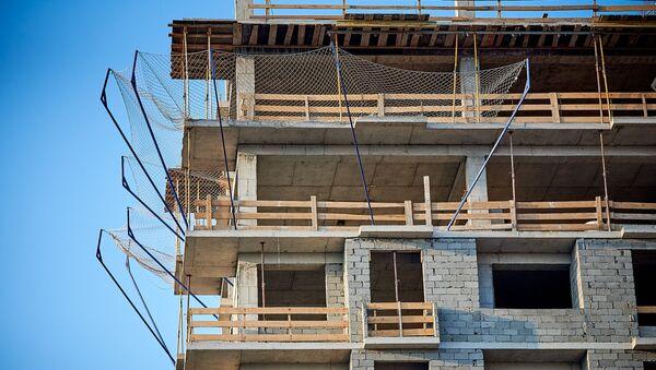 საცხოვრებელი სახლის მშენებლობა - Sputnik საქართველო