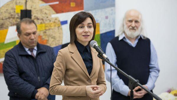 Молдавский политический и государственный деятель Майя Санду - Sputnik Грузия