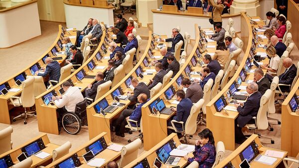Заседание парламента Грузии. Депутаты - Sputnik Грузия