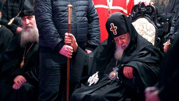 Католикос Патриарх Всея Грузии Илия Второй на Метехском мосту. Как в Грузии отметили День памяти 100 тысяч мучеников - Sputnik Грузия