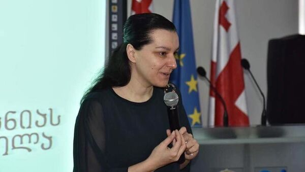 Депутат Мариам Джаши - Sputnik Грузия