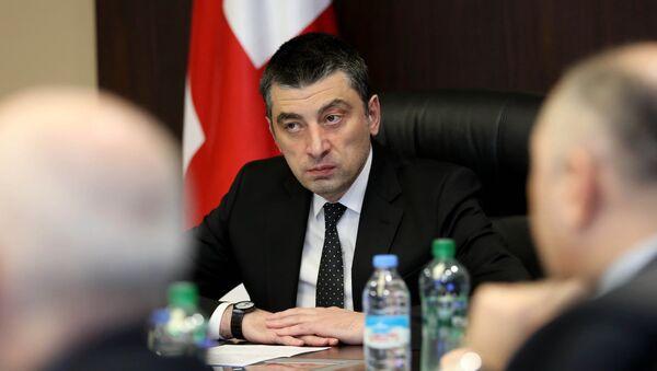 Премьер-министр Грузии Георгия Гахария  - Sputnik Грузия