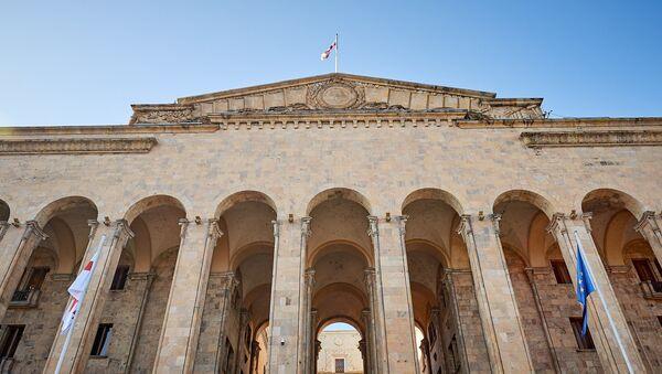 Здание парламента Грузии. Фасад - Sputnik Грузия