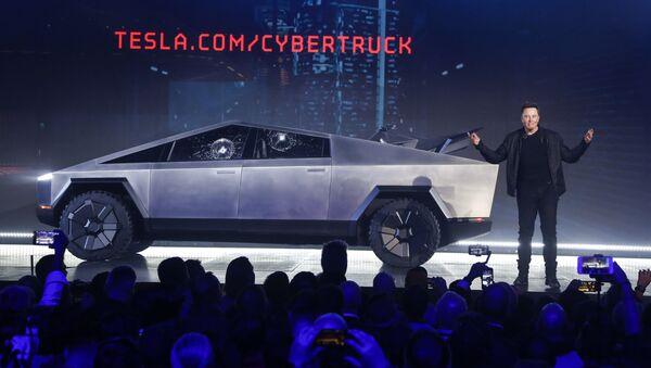 Внедорожник Tesla Cybertruck - Sputnik Грузия