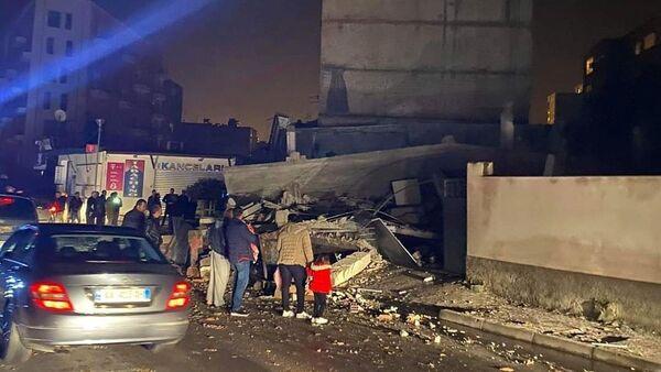 Последствия землетрясения в Албании - Sputnik Грузия