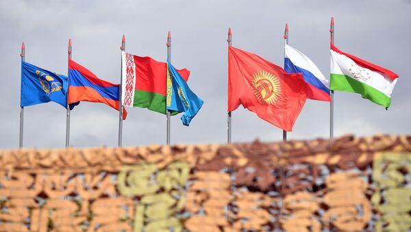 Государственные флаги стран-участниц ОДКБ - Sputnik Грузия