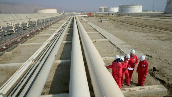 Строительные работы трансанатолийского газопровода (TANAP), фото из архива - Sputnik Грузия