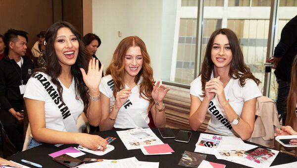 Miss Universe 2019 (საქართველოს წარმომადგენელი მარჯვნივაა) - Sputnik საქართველო