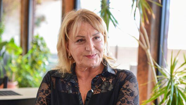 Марина Кодуа бизнесвумен - мама баскетболиста Зазы Пачулия - Sputnik საქართველო