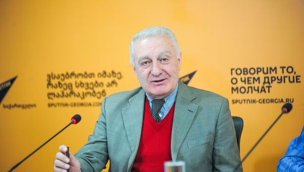 академик Гелатской академии, председатель партии Тетреби Темур ШАШИАШВИЛИ - Sputnik Грузия