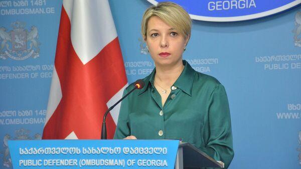 ნინო ლომჯარია - Sputnik საქართველო