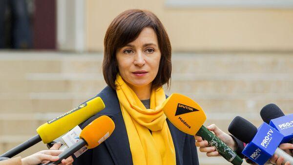 Премьер-министр Республики Молдова Майя Санду - Sputnik Грузия