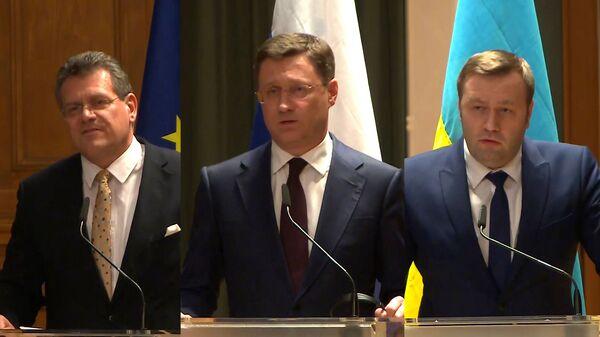 Россия и Украина достигли соглашения по транзиту газа на переговорах в Германии - Sputnik Грузия