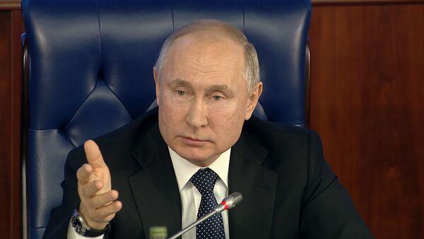 Путин о гиперзвуковом оружии: теперь догоняют нас - Sputnik Грузия