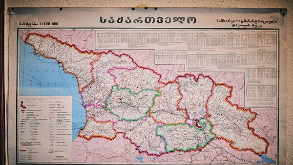 საქართველოს რუკა - Sputnik საქართველო