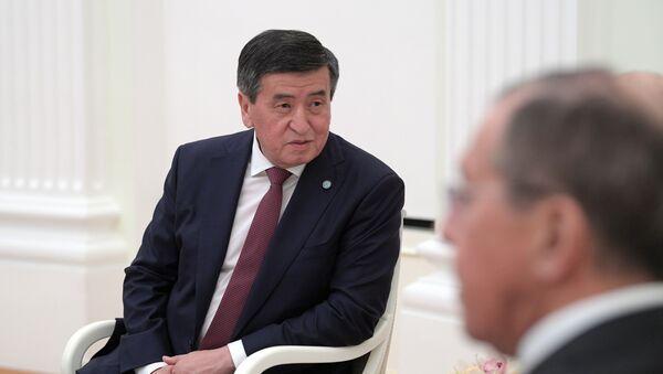 Президент Киргизии Сооронбай Жээнбеков  - Sputnik Грузия