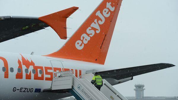 ავიაკომპანია Easyjet-ის კუთვნილი თვითმფრინავი - Sputnik საქართველო