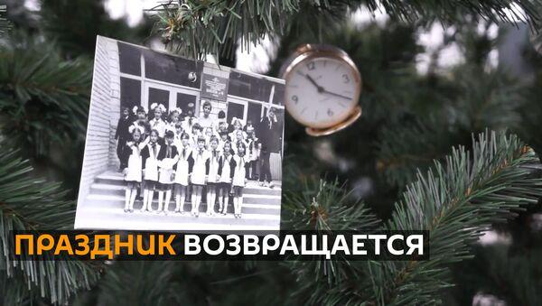 Впервые после чернобыльской аварии в Припяти установили новогоднюю елку - Sputnik Грузия